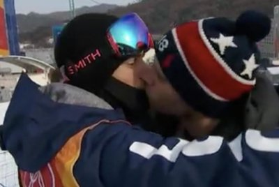 USA's Gus Kenworthy 'happy' that kiss with BF filmed at Olympics