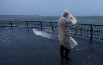 Hurricane Sandy makes landfall in N.J.