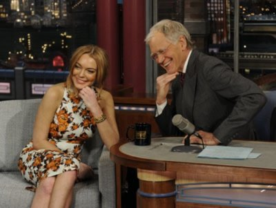 Lindsay Lohan calls rehab a 'blessing' on 'Late Show'