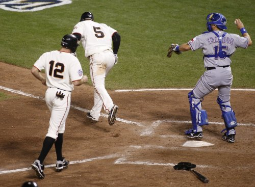 MLB: San Francisco 9, Texas 0