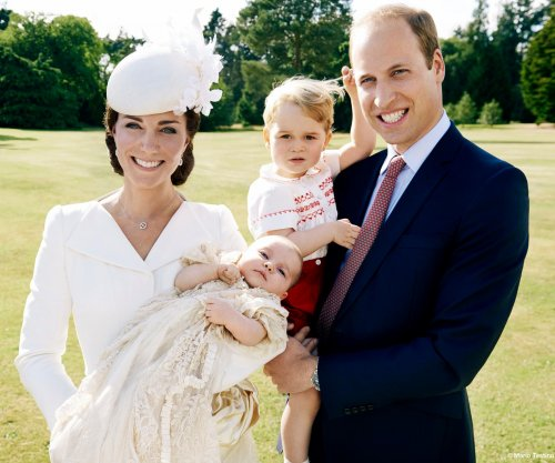 Kensington Palace releases photos of Princess Charlotte's christening