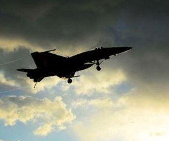 American pilot killed after F/A-18 Hornet fighter jet crashes near British air base