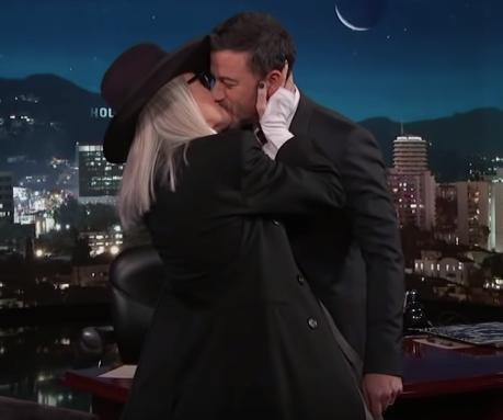 Diane Keaton kisses Jimmy Kimmel to recreate scene in 'Book Club'