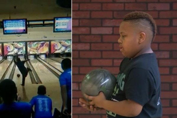 Watch: New Jersey boy bowls a perfect 300 at 10 years old - UPI com
