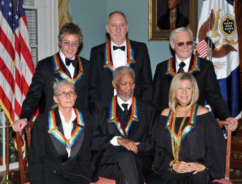Freeman, Streisand receive Kennedy honors