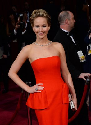Jennifer Lawrence featured in Martha Stewart Weddings as a bridesmaid