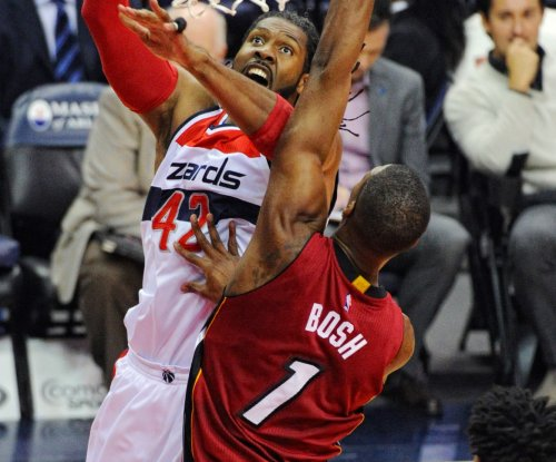 Miami Heat F Chris Bosh out, Atlanta Hawks C Al Horford in for All-Star Game