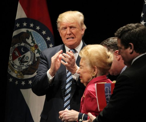 Donald Trump eulogizes conservative activist Phyllis Schlafly