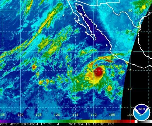 Tropical Storm Seymour in Pacific to become hurricane off Mexican coast