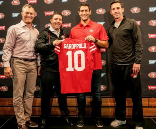 Jimmy Garoppolo could see first action for San Francisco 49ers Sunday