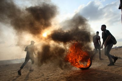 Four dead in Gaza protests with Israeli military