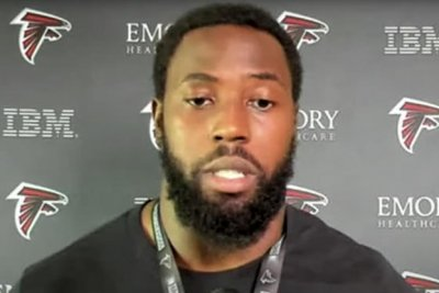 Suspension not expected for Falcons DE Harris after 'cheap shot' hit to Panthers QB Bridgewater