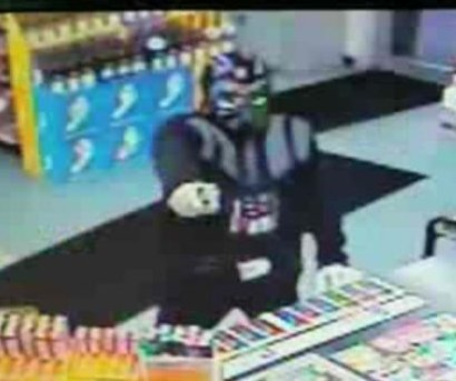 Police: Robber in Darth Vader costume foiled by jar of salad dressing