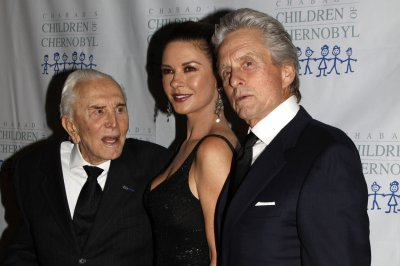Michael Douglas celebrates dad Kirk's 99th birthday