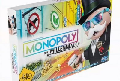 'Monopoly for Millennials' swaps real estate for 'experiences'