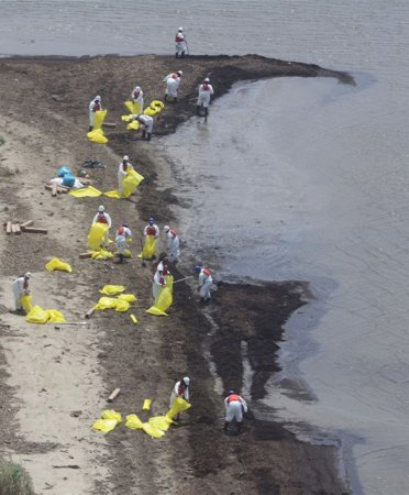Gulf spill costs reach $450 million