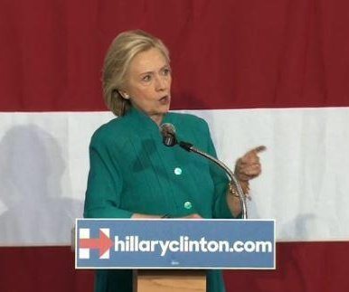 Hillary Clinton addresses 'Obamatrade' at Iowa rally