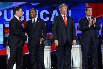 Rubio hammers Trump, Republican debate turns into shouting match