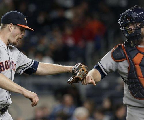 Houston Astros outslug Oakland A's
