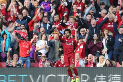 Mohamed Salah lifts Liverpool past Huddersfield