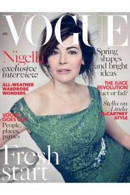 Nigella Lawson will appear on the cover of British 'Vogue'
