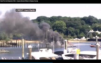 Retired police captain killed in boat explosion on Long Island