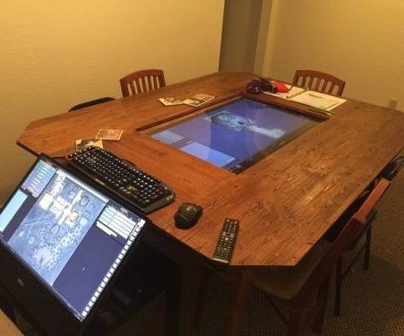 Group constructs hi-tech Dungeons and Dragons setup