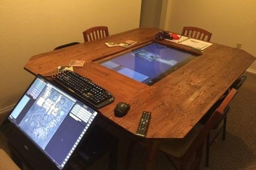 Group constructs high-tech Dungeons and Dragons setup