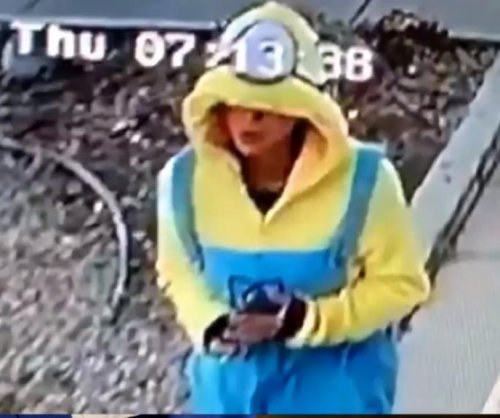 'Despicable' porch pirate uses Minion costume to avoid cameras
