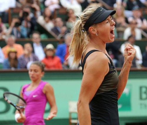 Sharapova among first-day WTA winners