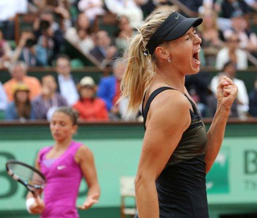 Sharapova among first-day WTA winners