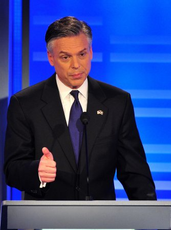 Huntsman says he's feeling mojo in N.H.