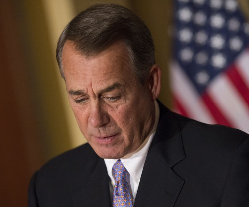Boehner pitches plan to avoid shutdown, hardliners push back