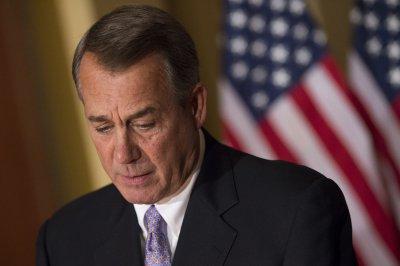 Boehner pitches plan to avoid shutdown, hardliners push back