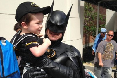 'Route 29 Batman' who visited sick children killed in crash