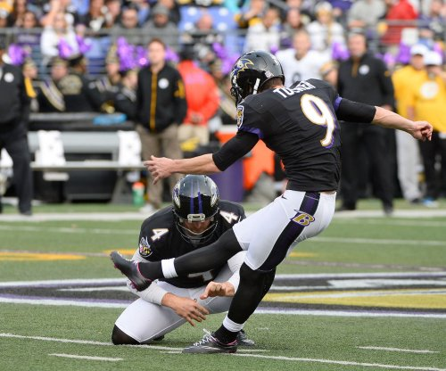 Baltimore Ravens franchise K Justin Tucker