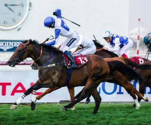 UPI Horse Racing Roundup: The Blue Eye wins at Qatar, Kentucky Derby scene heats up