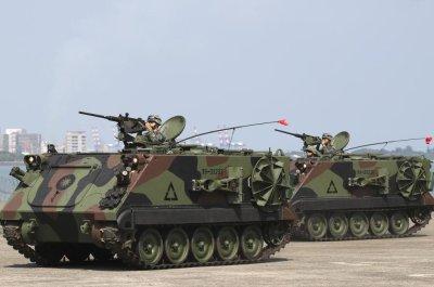Senate bill raises prospect of joint U.S., Taiwan drills