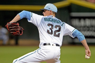 D-backs' Buchholz to facing Cubs, Wrigley