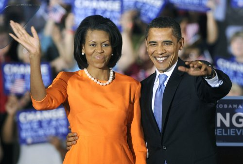 Michelle: Barack has right to choose veep