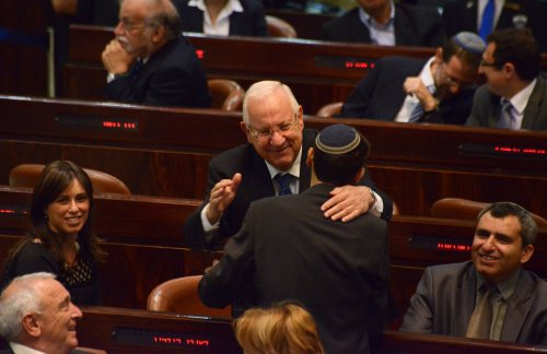 Rivlin elected president of Israel