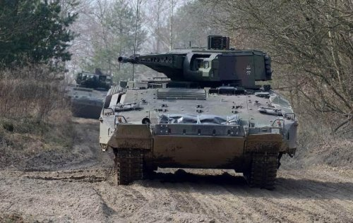 Germany approves Puma fighting vehicle for army