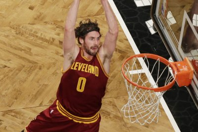Cleveland Cavaliers F Kevin Love to miss at least 1 game