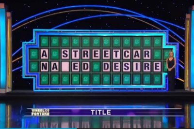 'Wheel of Fortune' contestant's 'Streetcar' fail earns instant viral fame