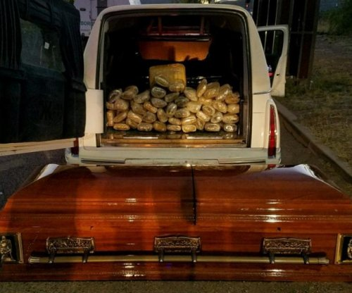 Border Patrol stops hearse carrying pot-filled coffin