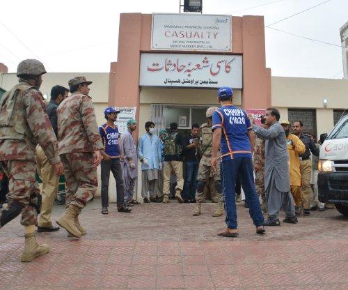 Pakistan blast targets senator's convoy, killing 25