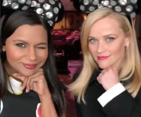 Mindy Kaling, Oprah Winfrey, Reese Witherspoon visit Disneyland