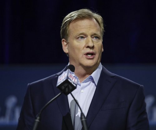 NFL's Goodell on new rule: helmet is not a weapon