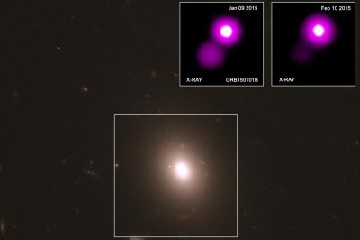 Astronomers locate gravitational wave source's cosmic cousin