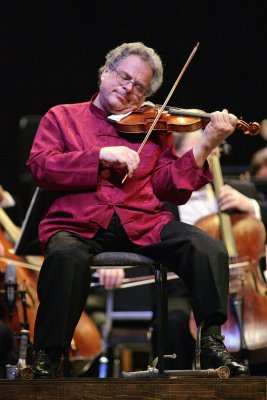 Perlman to perform polio benefit concert